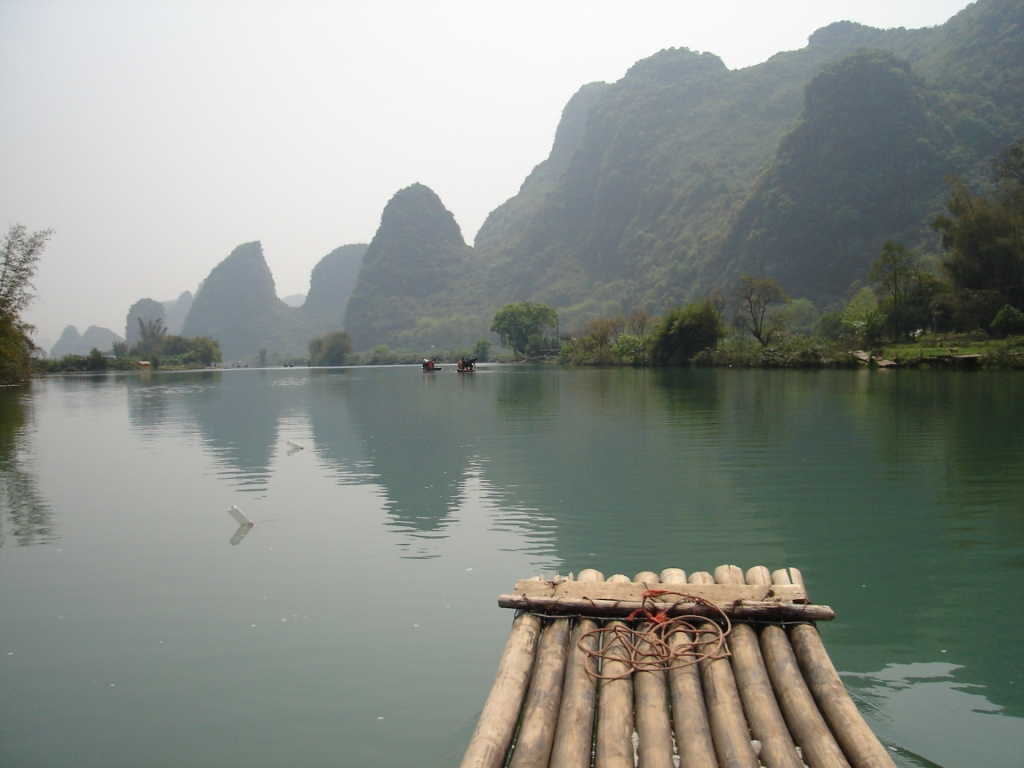 Rafting the Yulong River